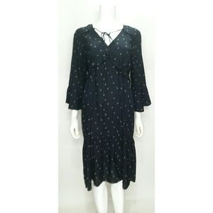 Loft 3/4 sleeve Dress Size Large